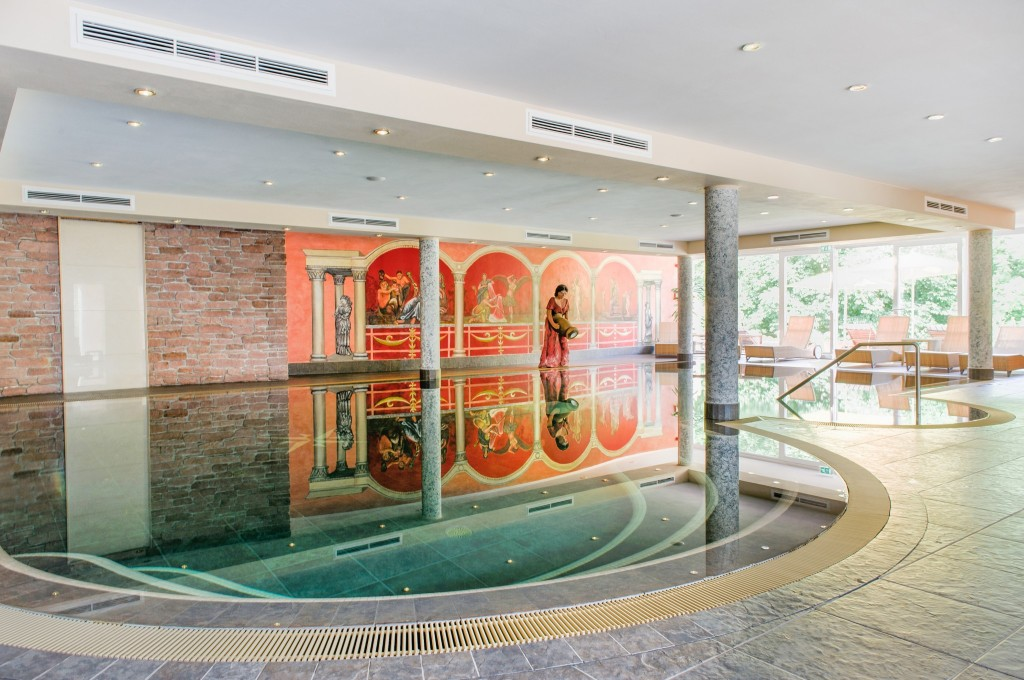 Indoor Spring Water Pool