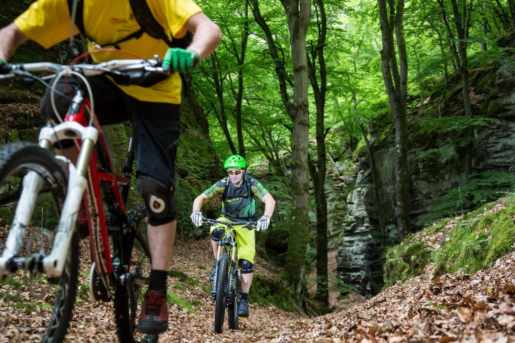 Mountainbike trailtours